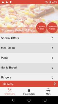 Supreme Kebab & Pizza screenshot 1