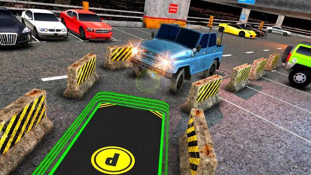 Multi Level Jeep Parking Mania screenshot 7