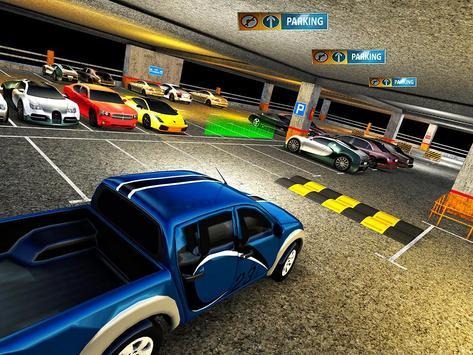Multi Level Jeep Parking Mania apk screenshot