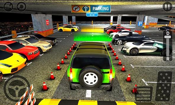 Multi Level Jeep Parking Mania screenshot 1