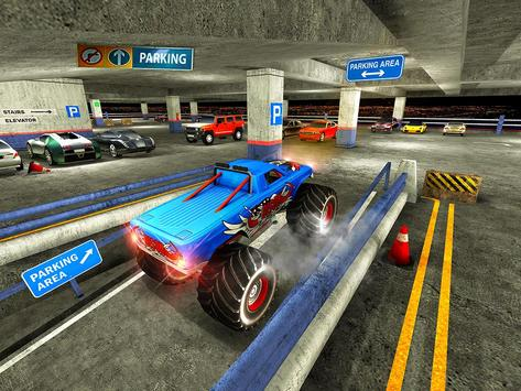 Multistory Monster Truck Park apk screenshot