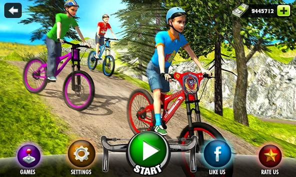 Uphill Offroad Bicycle Rider 2 poster