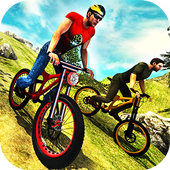 Uphill Offroad Bicycle Rider icon