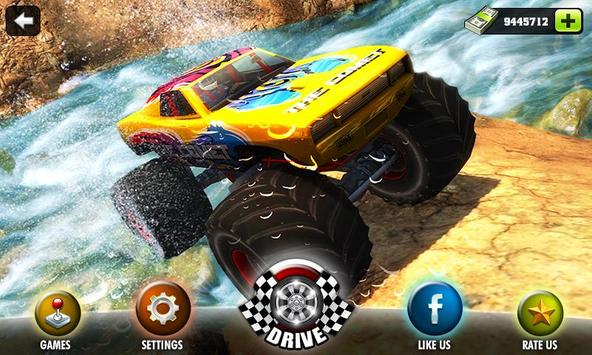 Off road Monster Truck Derby poster