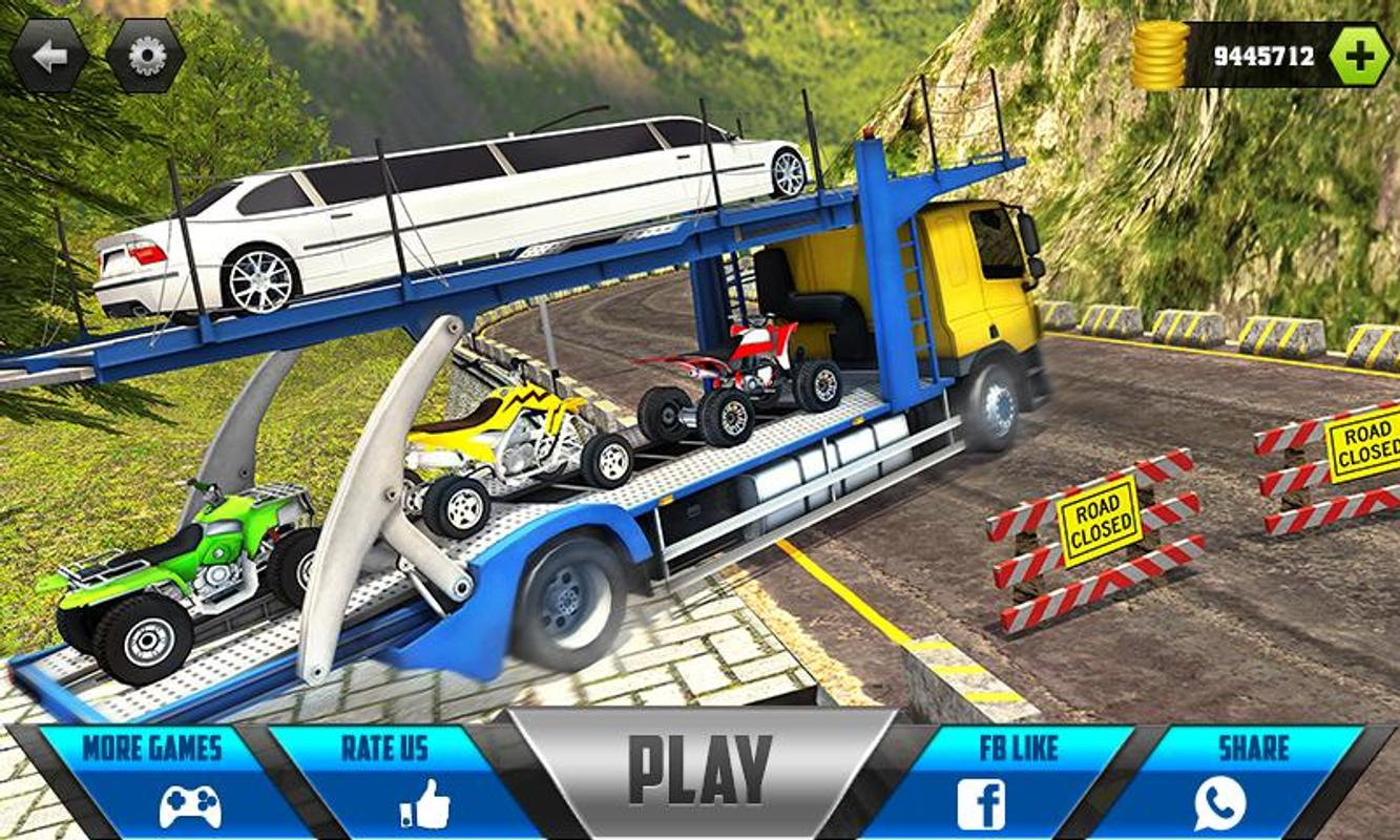 Car Transporter Cargo Truck Driving Game 2018 For Android Apk Download