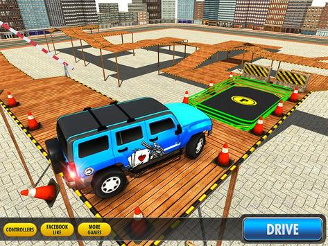 City Climb Prado Stunt Parking apk screenshot