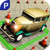 Real Classic Car Stunt Parking icon