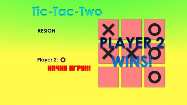 Tic Tac Two poster