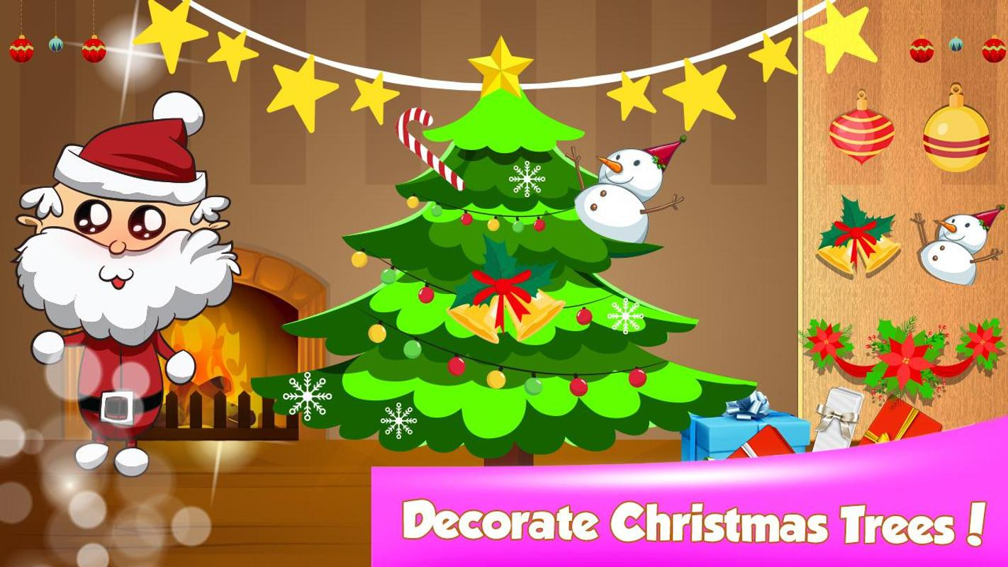 Merry Christmas Trees - Color & Decorate APK Download - Free ...