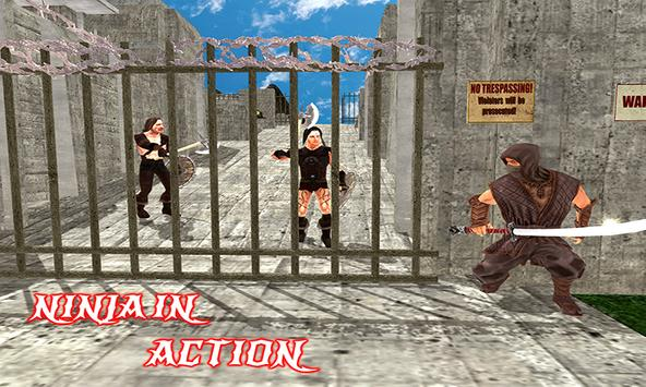 Ninja Warrior Assassin Fight: Survival Escape Hero poster