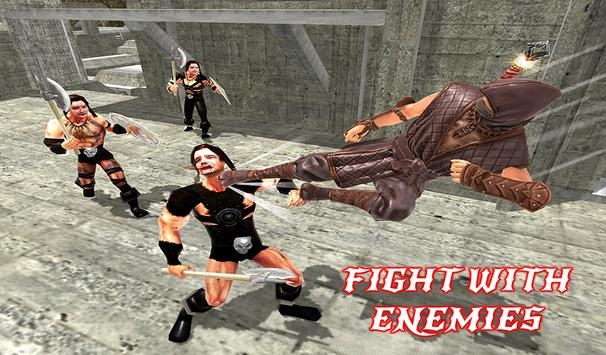 Ninja Warrior Assassin Fight: Survival Escape Hero screenshot 12