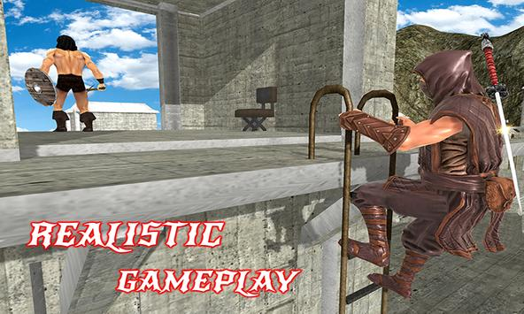 Ninja Warrior Assassin Fight: Survival Escape Hero screenshot 1