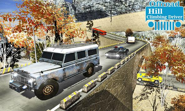 Offroad Hill Climbing Driver poster