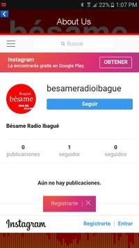 Bésame Radio Ibagué screenshot 2