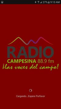 Radio Campesina Inza poster