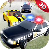 City Police Car Chase Smash 3D icon