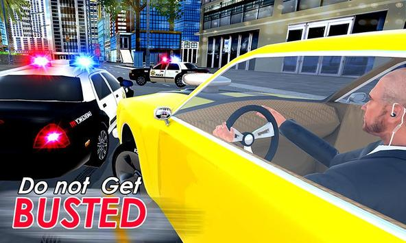 City Police Car Chase Smash 3D poster