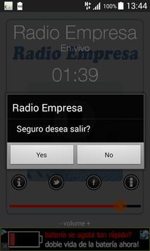 Radio Empresa La Paz Bolivia screenshot 4