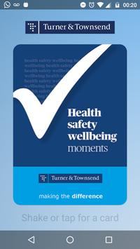 Health and Safety Moments poster
