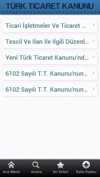 Türk Ticaret Kanunu apk screenshot