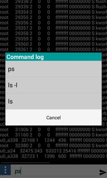 Advanced Terminal for Android screenshot 1