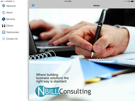 NBILL Consulting apk screenshot