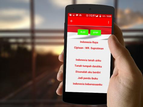 21 Lagu Nasional Indonesia apk screenshot