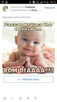 Mensagens bonitas para Whatsapp e Facebook apk screenshot