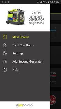 Ryobi™ GenControl™ screenshot 3