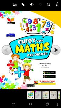 Enjoy with Maths Pre-primer poster