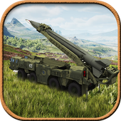 3D Army Missile Launcher Truck icon