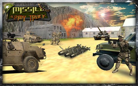 3D Army Missile Launcher Truck apk screenshot