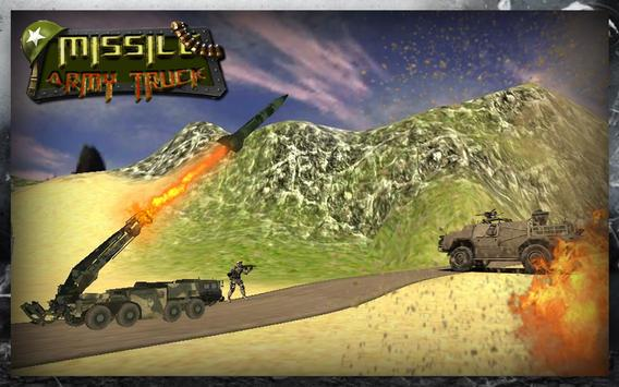 3D Army Missile Launcher Truck poster