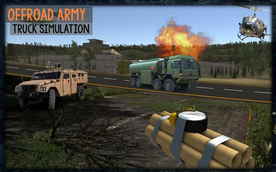 Drive Offroad US Army Truck apk screenshot
