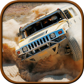 Offroad Jeep Desert Drive 3D icon