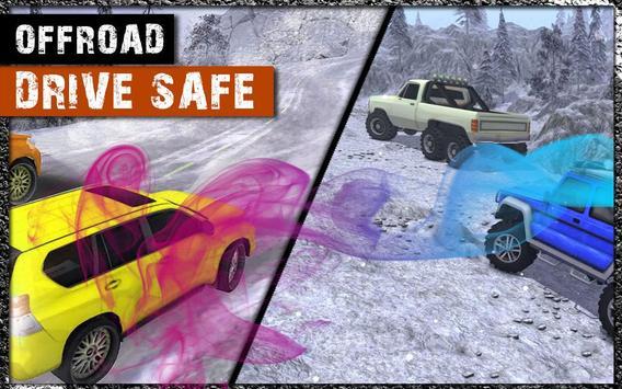 4x4 Car Offroad Snow Prado Driving apk screenshot
