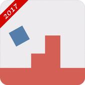 adventure blue  square icon