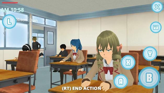 School Life Simulator poster