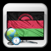 TV Malawi time list Free icon