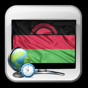TV Malawi time list Free poster