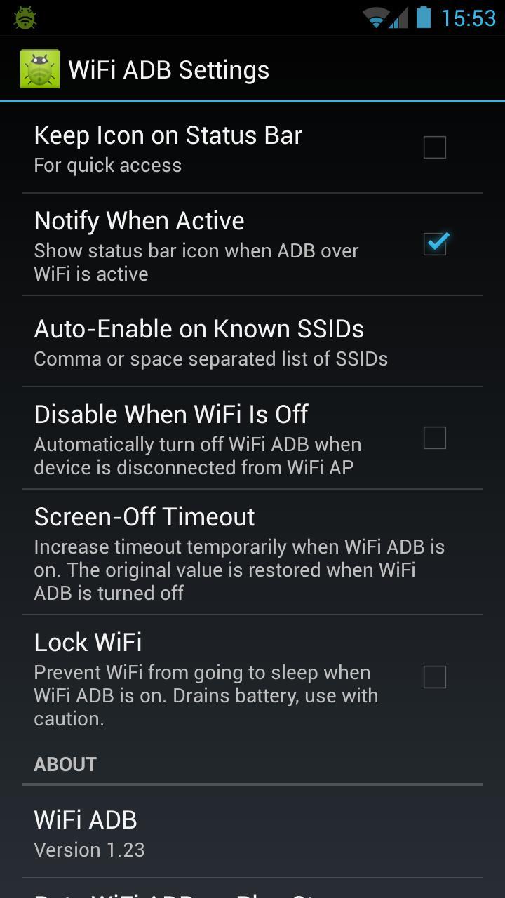 Android 用の WiFi ADB APK をダウンロード
