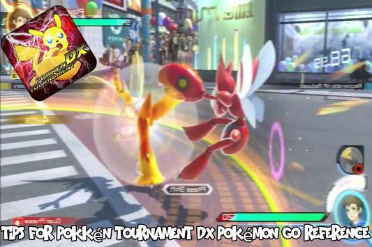 Tips for pokkén tournament dx Pokémon Go reference apk screenshot