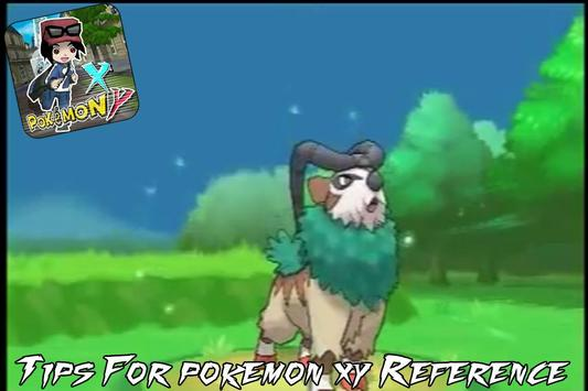 Tips For pokemon xy Reference apk screenshot