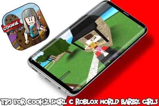 Tips For cookie swirl c roblox barbie girls world apk screenshot