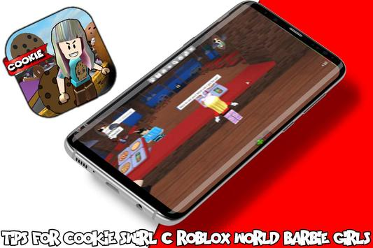 Tips For cookie swirl c roblox barbie girls world screenshot 1