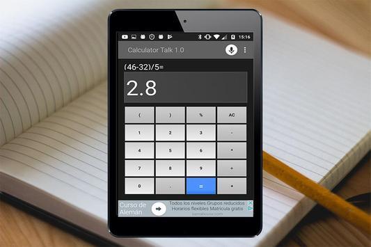 Calculadora por Voz screenshot 1