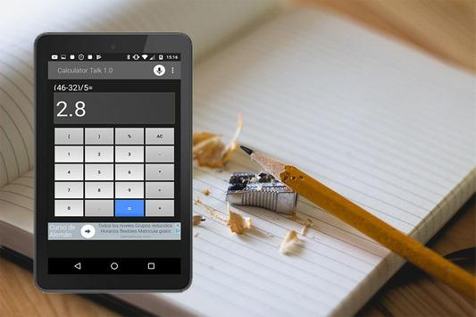 Calculadora por Voz screenshot 2