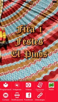 FIRA I FESTES EL PINOS poster