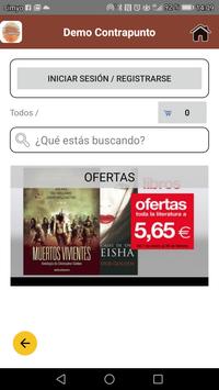 Demo Librería Cafetería Contrapunto screenshot 3