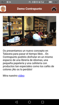 Demo Librería Cafetería Contrapunto screenshot 4